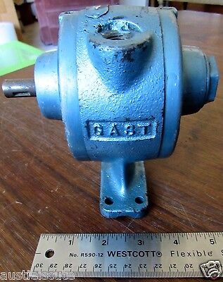 Gast Am 25 Air Gear Motor Mixer Motor Pneumatic Motor Used