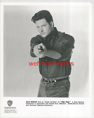 VINTAGE Dale Midkiff QUITE HANDSOME '93 TIME TRAX TV Publicity Portrait