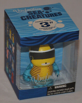 Sealed! Disney VINYLMATION Sea Creatures RACCOON BUTTERFLY FISH (Fast Shipping!)