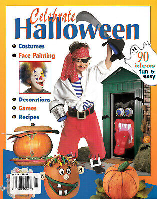 Celebrate Halloween ~St Remy Media (2003 Paperback) Activities Decorations Games](Preschool Halloween Games)