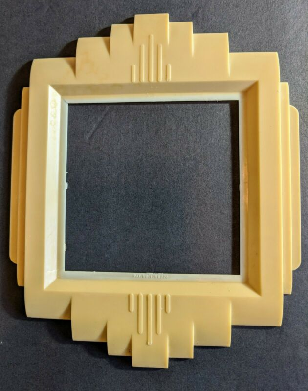 Vintage Art Deco Double Switch Plate Cover 1930s Gits Protecto Shield