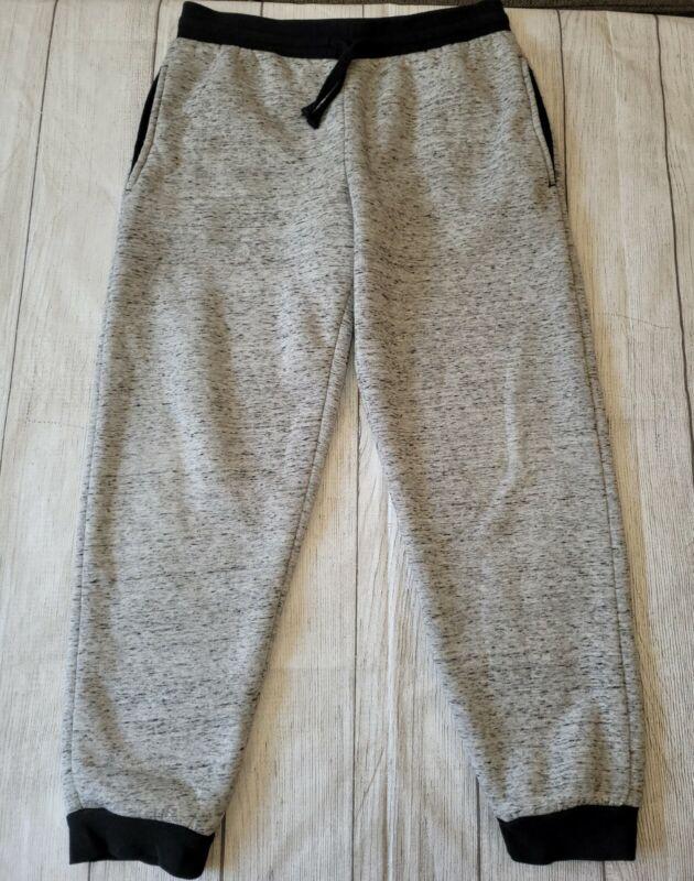 Arizona Husky Boy •Size 14-16• Gray Fully Lined Sherpa Joggers Warm Cozy Winter