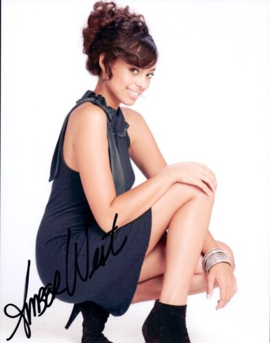 Amber Stevens West Signed Autographed 8x10 Photo HAPPY TOGETHER Actress COA VD
