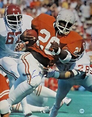 Earl Campbell Houston Oilers Signed Autographed 16x20 Photo FSG Authentic 6