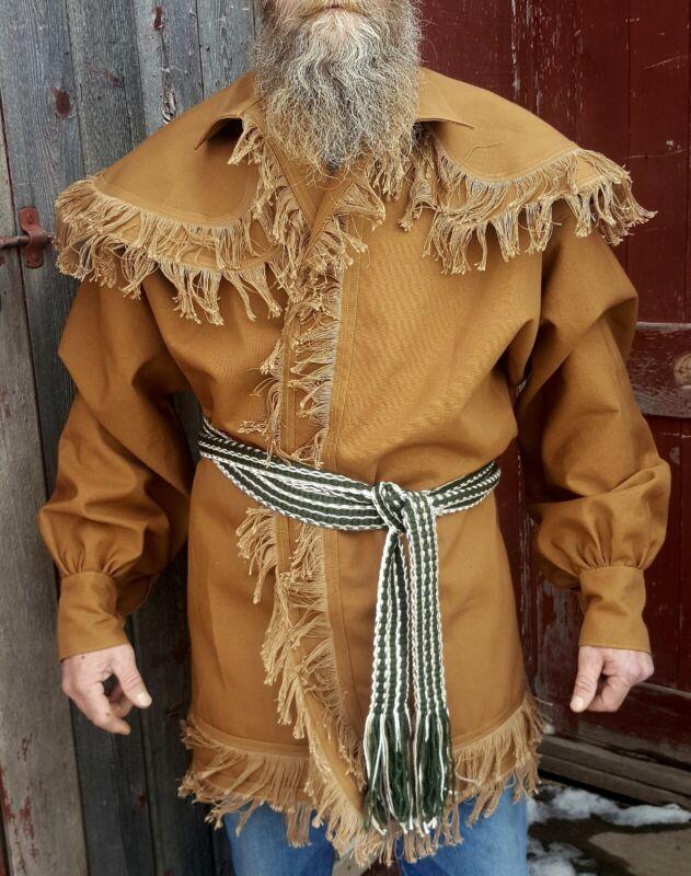 Woodsman Frock Coats/ jacket for fur trade re-enactments  Size: XL