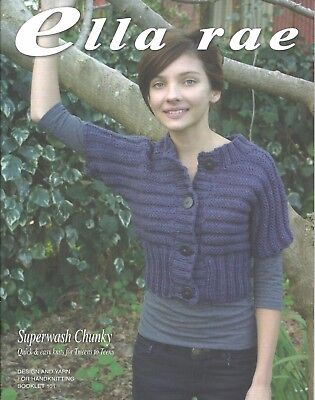 Ella Rae Quick & Easy Knits for Tweens to Teens Knitting Pattern Book NEW
