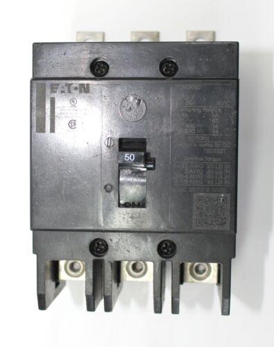 GHB3050 Cutler Hammer / Eaton 480Y/277V 50 Amp 3 Pole Circuit Breaker