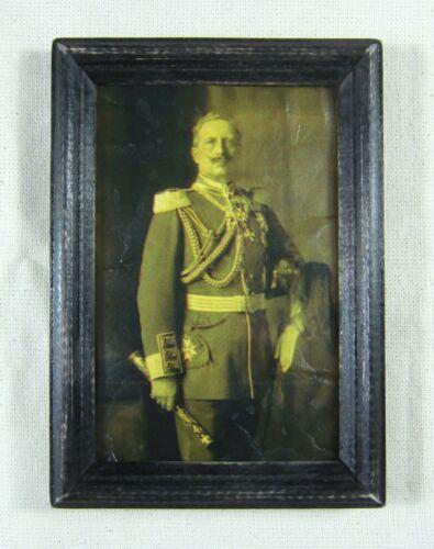 Emperor Kaiser Wilhelm II, Antique Geramn Portrait, WW I Germany, Rare!!!!