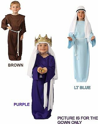 Economy Biblical CHILD GOWN Shepherd Kings Jesus Nativity MEDIUM by Alexander's - Child Nativity Costumes