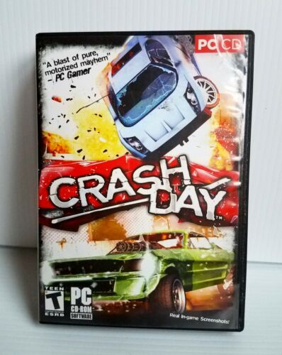 Computer Games - Crashday - PC CD Computer game for Windows Complete Crash Day VALUsoft 2006