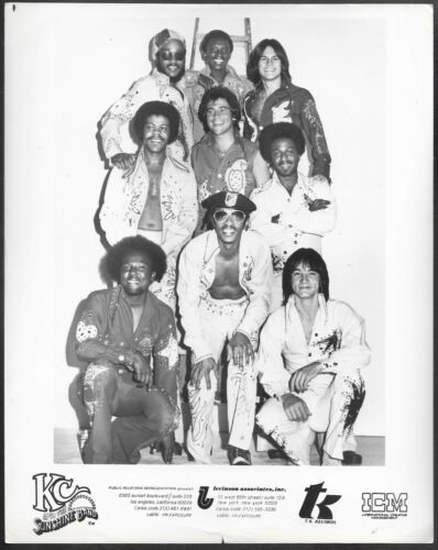 ~ KC and the Sunshine Band Original 1970s Agency Promo Photo