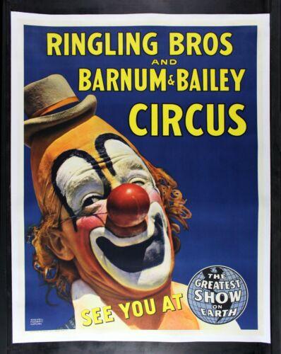 RINGLING BROS BARNUM BAILEY ✯ CineMasterpieces CLOWN 1940