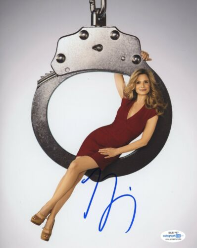 Kyra Sedgwick The Closer Autographed Signed 8x10 Photo ACOA