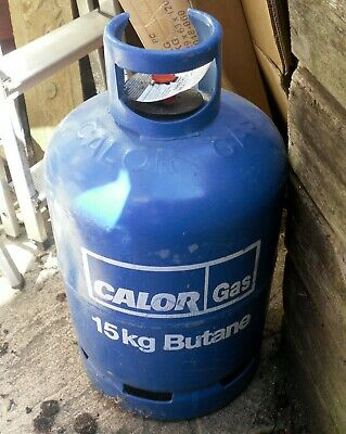 Full Calor Gas 15Kg Gas Bottle With Regulator and Hose - Collection Only GU12