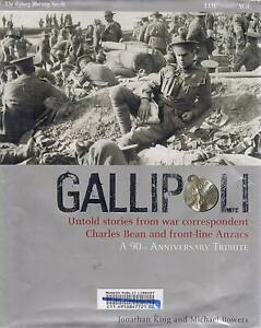 GALLIPOLI-UNTOLD STORIES FROM CHARLES BEAN & FRONT-LINE ANZACS Hughesdale Monash Area Preview