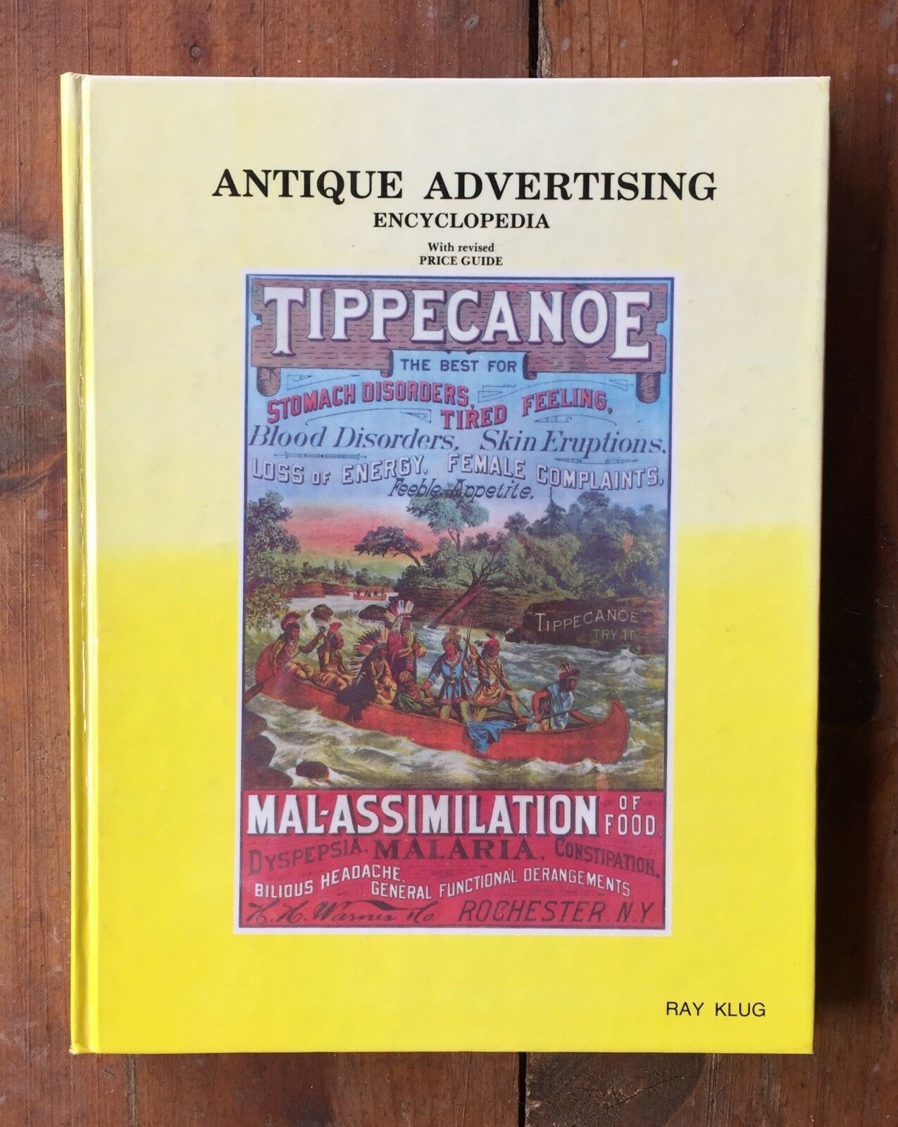 Antique Advertising Encyclopedia Price Guide Ray Klug Book 1985