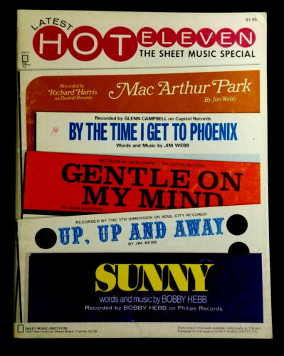 Latest Hot Eleven The Sheet Music Special Piano, Voice, Guitar