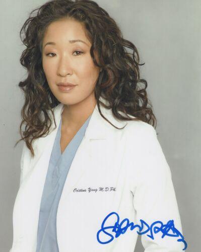 Sandra Oh Grey's Anatomy Autographed Signed 8x10 Photo COA 2020-1