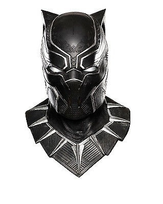 Captain America Civil War - Black Panther Full Adult Overhead Mask - Captain America Accessories