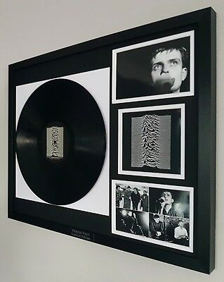Joy Division Framed Original Record-VINYL Unknown Pleasures Ian Curtis New Order