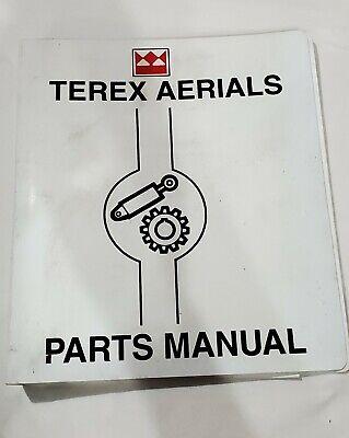 Terex Aerials Terex Lifting Scissor Lift Model Ts30rt Parts Manual Binder 2001