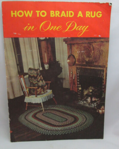 Vintage How to Braid a Rug in One Day Pattern Leaflet
