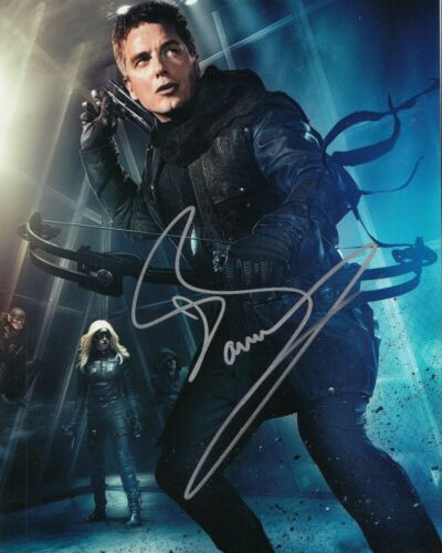 JOHN BARROWMAN signed *THE FLASH* ARROW TV SHOW 8X10 photo W/COA TORCHWOOD #3