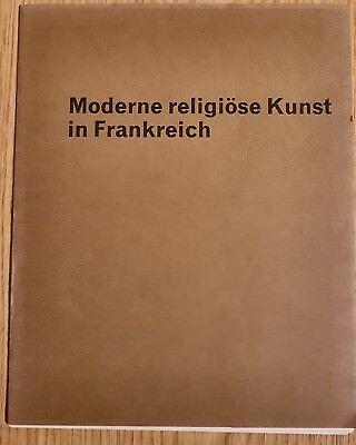 Kunstfolder Moderne religiöse Kunst in Frankreich mit 8 Kunstdrucken