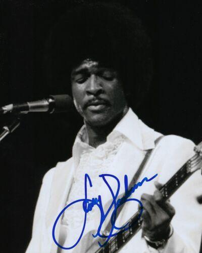 GFA Sly & the Family Stone * LARRY GRAHAM * Signed 8x10 Photo L3 COA