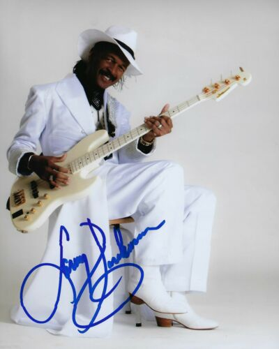 GFA Sly & the Family Stone * LARRY GRAHAM * Signed 8x10 Photo AD3 COA