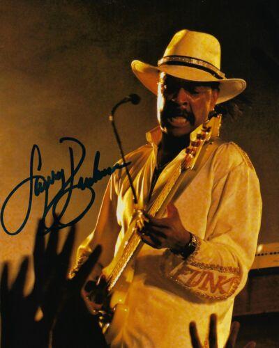 GFA Sly & the Family Stone * LARRY GRAHAM * Signed 8x10 Photo L4 COA