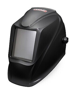 Lincoln Viking Industrial Passive Shade 11 Black Welding Helmet K3371-1