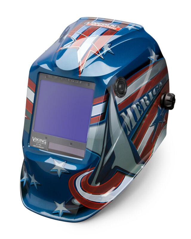 Lincoln Viking 3350 All American Auto-Darkening Welding Helmet K3175-4