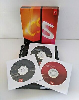 Adobe Creative Suite 5 Design Premium CS5+  Acrobat Acrobat 9 - MAC OS