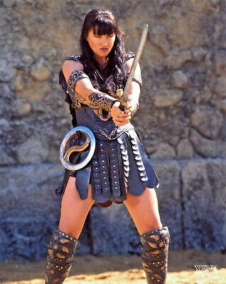XENA WARRIOR PRINCESS SWORD PROP W/ SCABBARD  & CHAKRAM 😵 FALLEN HERO