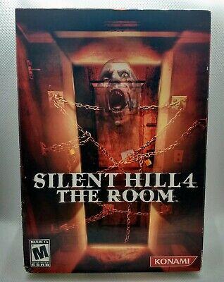 Silent Hill 4: The Room WINDOWS/PC DVD/ROM CIB USA/NTSC BOX (2004) RARE Konami, usado comprar usado  Enviando para Brazil