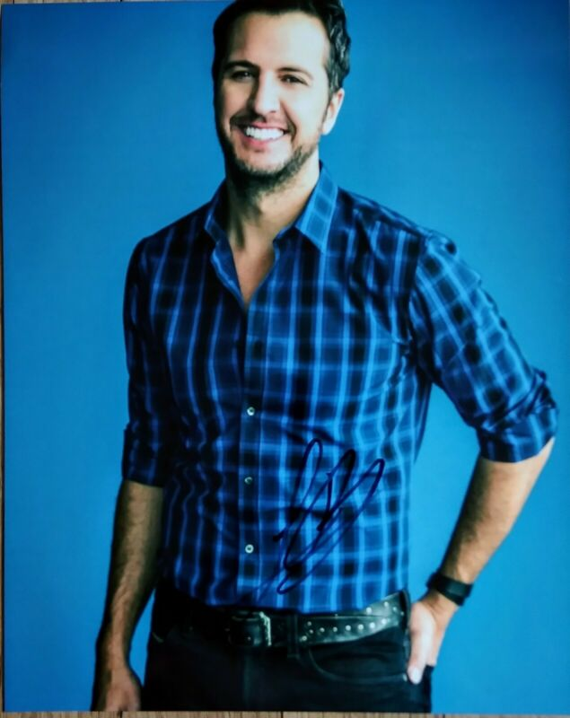 LUKE BRYAN AUTOGRAPHED SIGNED 8x10 PHOTO - COUNTRY