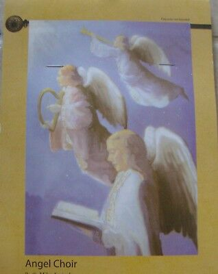 """Angel Choir 28 x 40"""" Large Decorative Flag - New in Package"""