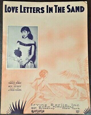 d to d 1931 Bruce Siever /& Jean Lenoir #4527* In G Speak To Me Of Love