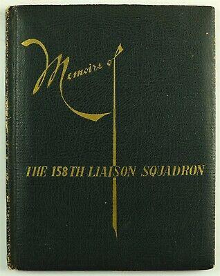 158th Liaison Squadron 1948 Unit History Book