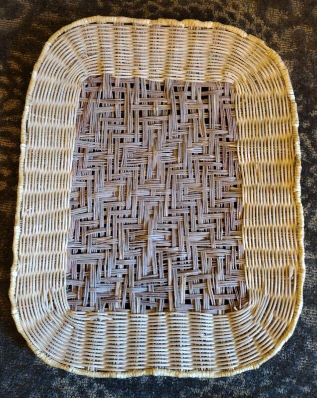 Hopi Basket Piki Tray By Dorleen Gashweseoma Sumac And Yucca