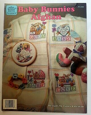 Jeremiah Junction Cross Stitch, The Bunny Hutch, Baby Bunnies Afghan