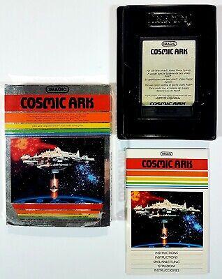 Imagic / Atari Vcs Game Cosmic Ark Pal Boxed 1982 Rob Fulop Shooter/Space