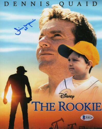 Jim Morris Autograph Signed 8x10 Photo - The Rookie Tampa Bay Rays (BAS COA)