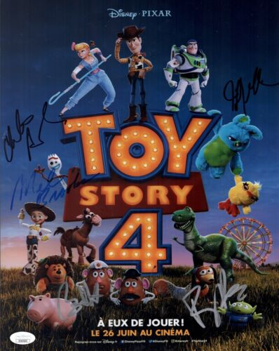 Tony Hale TOY STORY 4 Cast X5 Signed 11x14 Photo In Person Autograph JSA COA