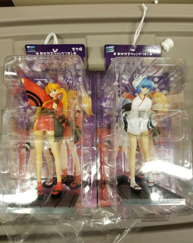 Neon Genesis Evangelion Extra Figure Night of Festival Rei and Asuka