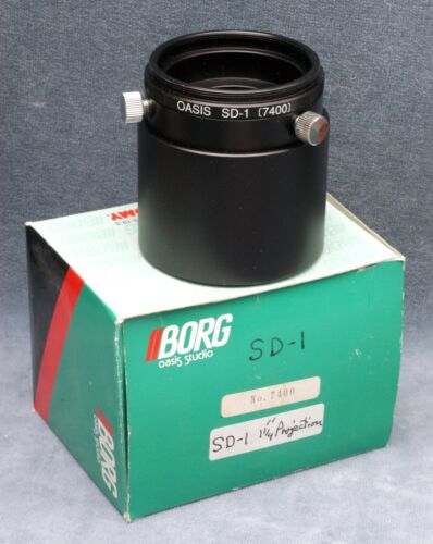 "NOS BORG 7400 SD-1  1.25"" PROJECTION TELESCOPE ADAPTER - FREE USA SHIPPING"