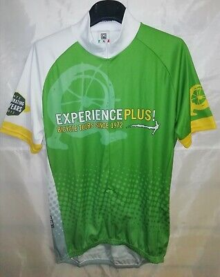 Maglia Ciclismo Santini Experience Plus Taglia XL Cycling Jersey Maillot