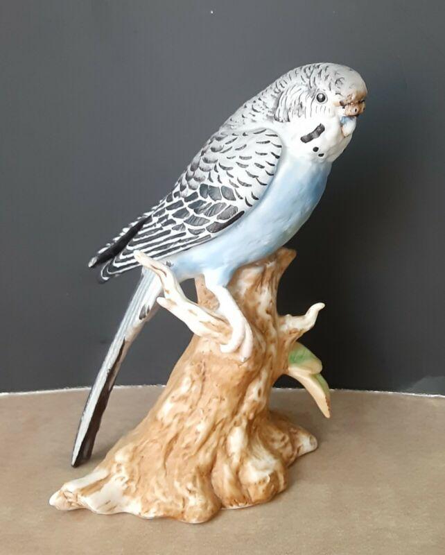 Marks & Rosenfeld Kelvin B-725 Budgerigar Maruri Blue Parakeet Figurine