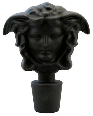 Rosenthal Versace Karaffenstopfer in schwarz/matt II. Wahl (AE961)